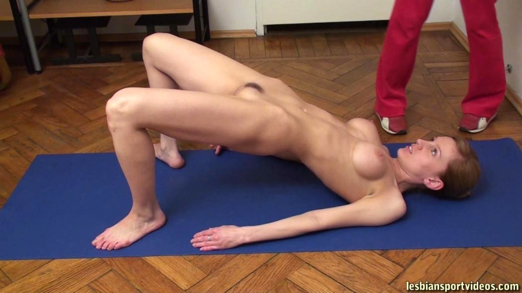 Redhead In Ripped Yoga Pants Gets Wrecked In The Gym