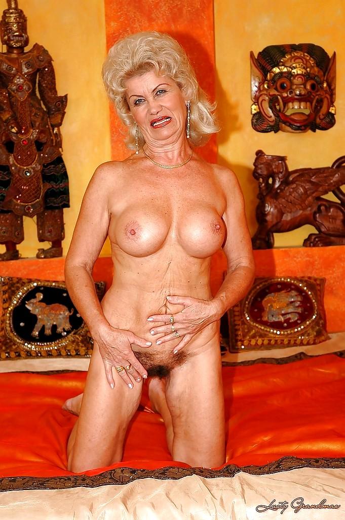 With you Lusty grandma big boobs happens