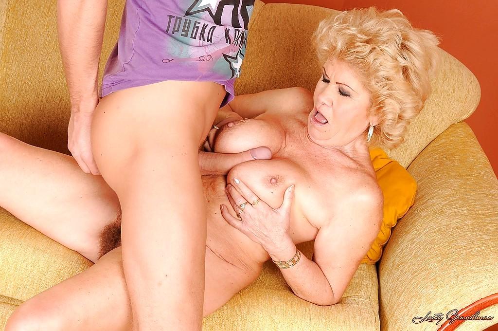 Lusty grandma big boobs opinion