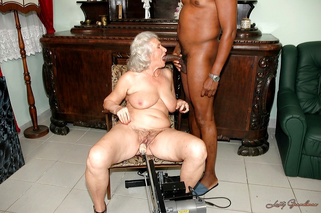 Granny and giant cock business