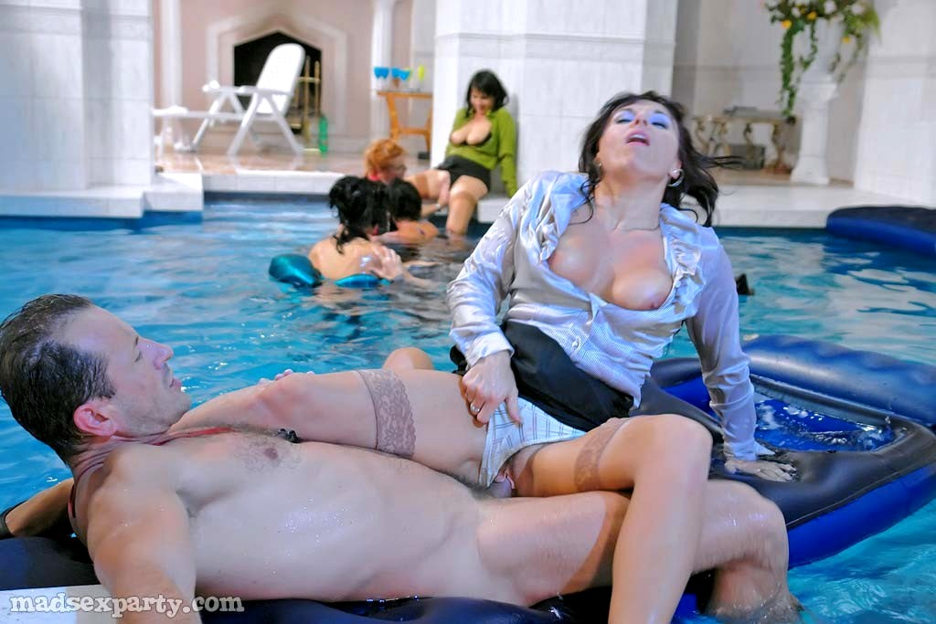 Porn party pool babes — photo 5