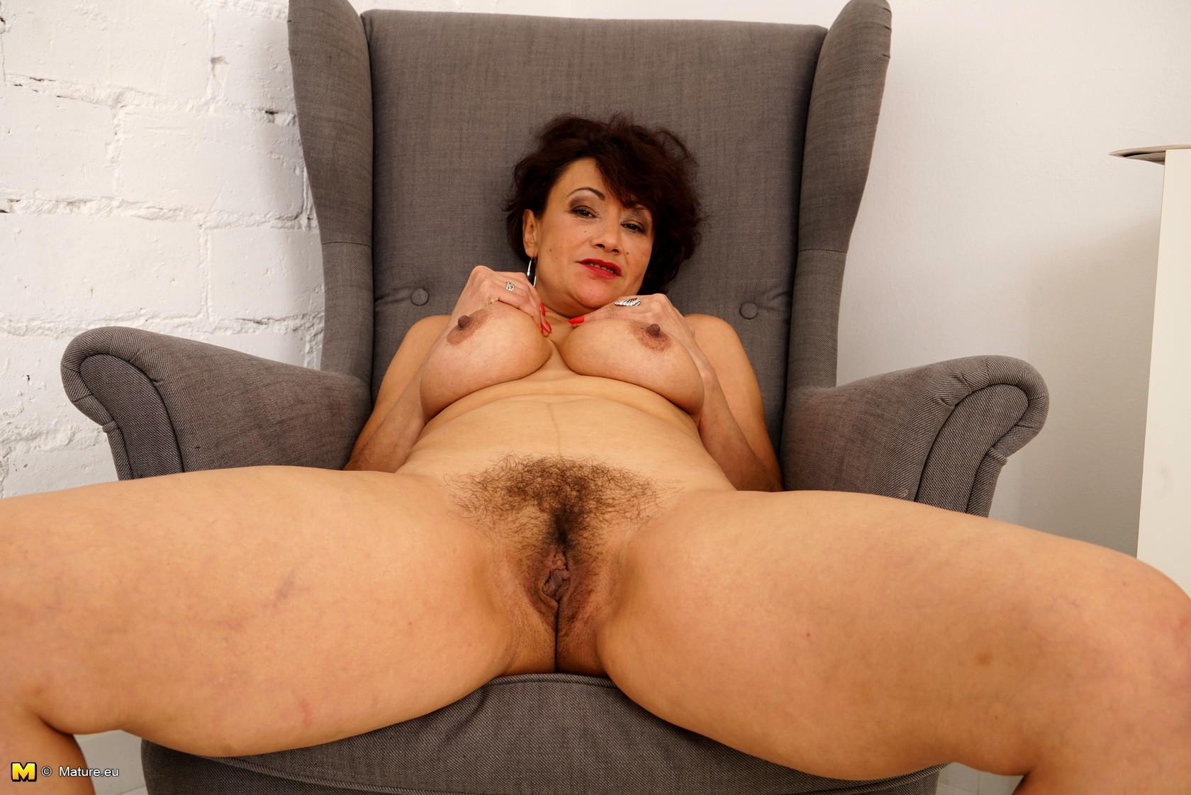 Hairy female mature masturbating remarkable