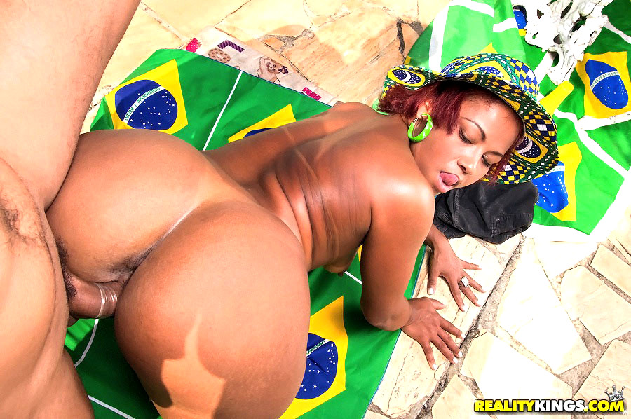 Big Black Brazlilian Butt Safira