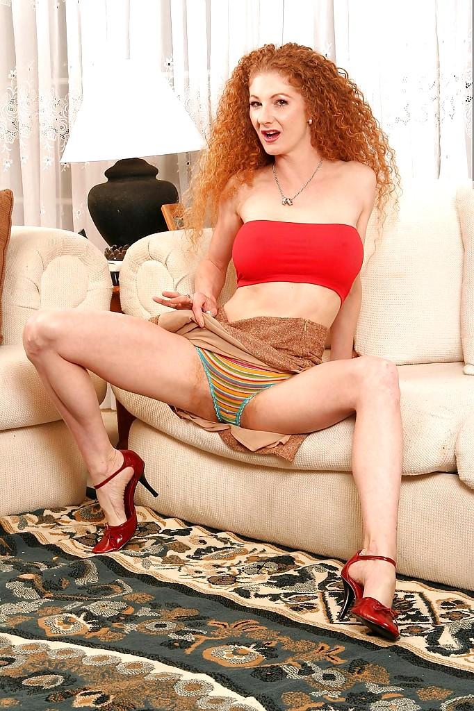 Hairy redhead milf annie body