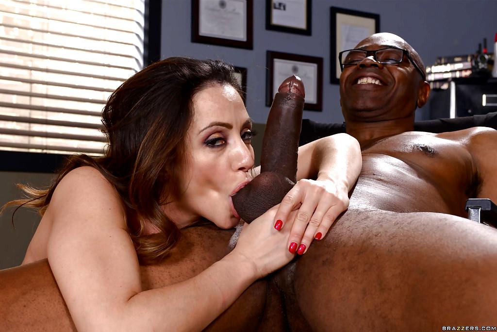 Milf sucking dick hard