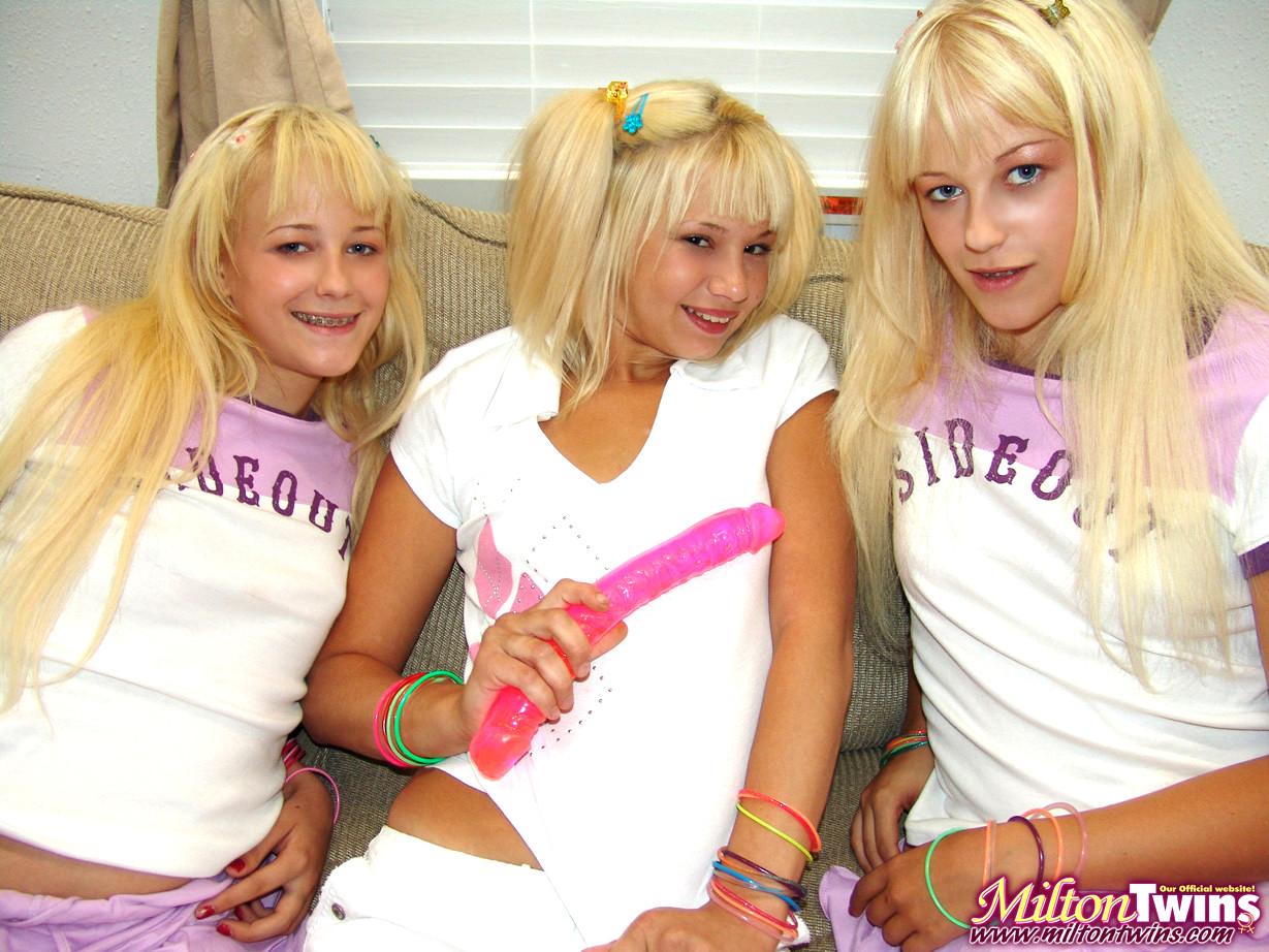Milton Twins Milton Twins Coolest Blonde Hdtv Sex HD Pics