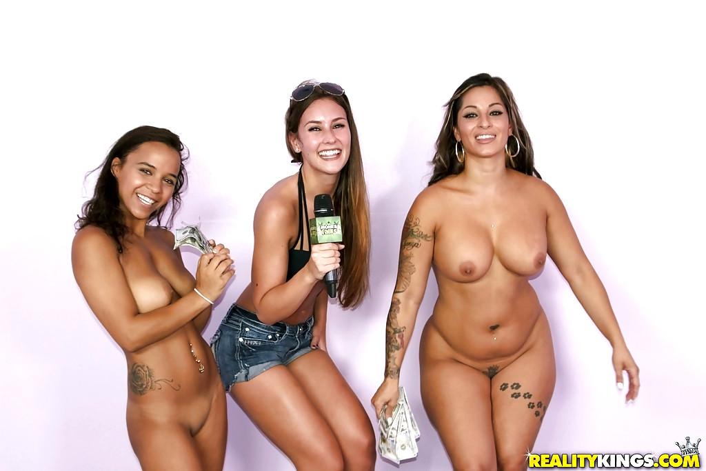 Amateur public nude dare