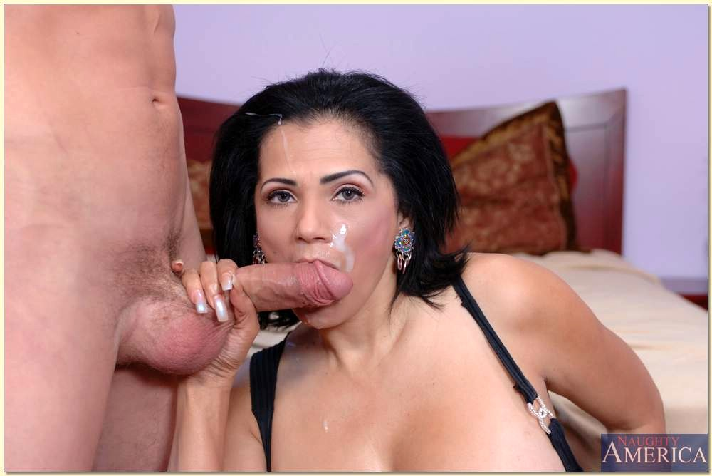 My tiny latina mom fucked me before dad came home