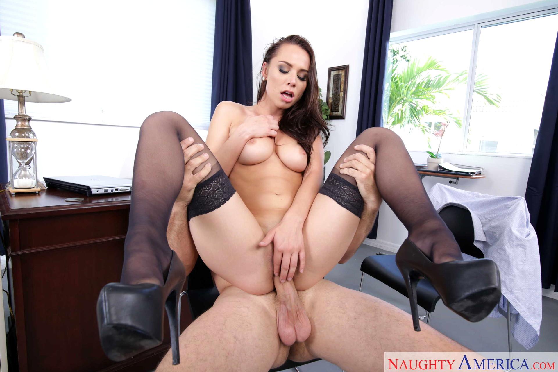 Naughty nylon sex cam