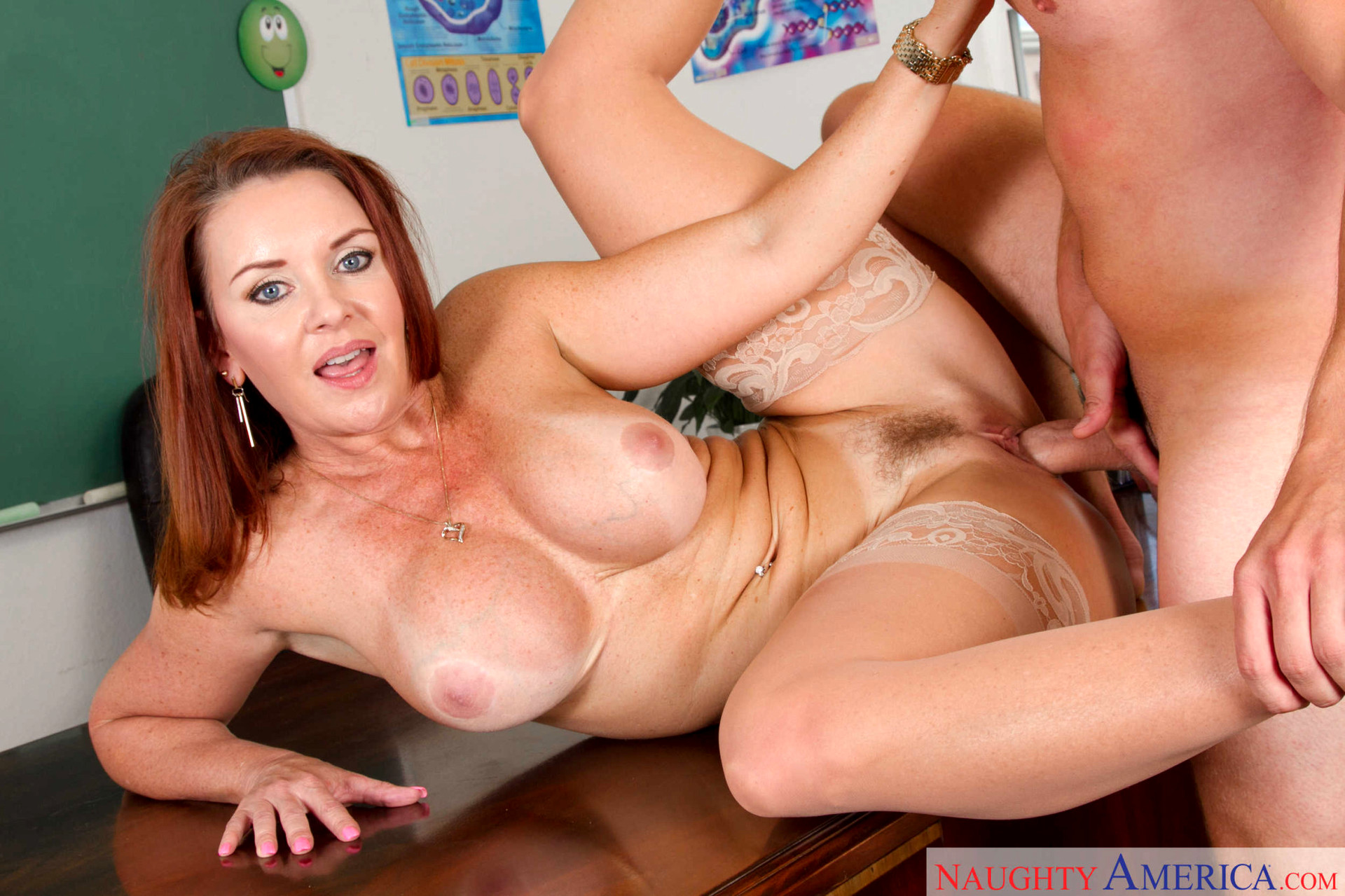Sizzling Redhead Teacher Gets Properly Fucked After Class Picture