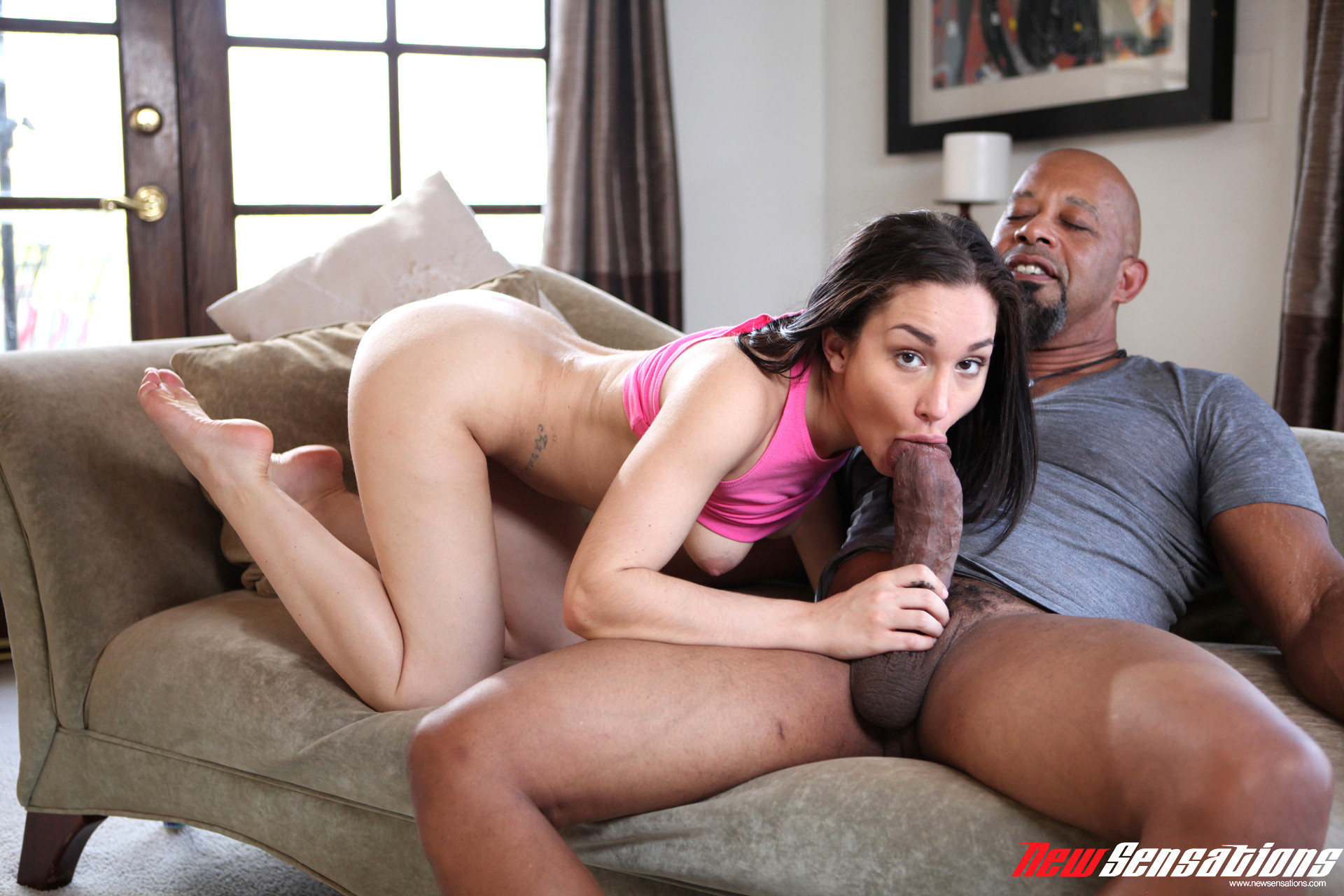 Baby sitter wants cock and money