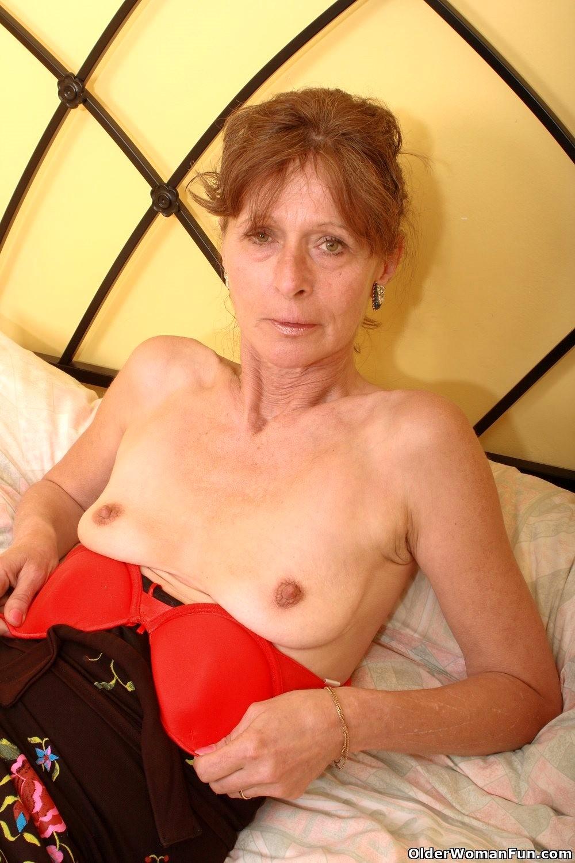 Hot skinny grandma gets fucked by her toy boy 9