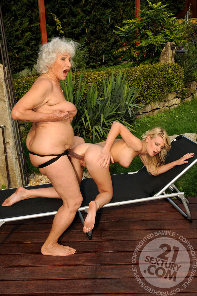 image Hungry busty grannies and moms suck and fuck a single guy
