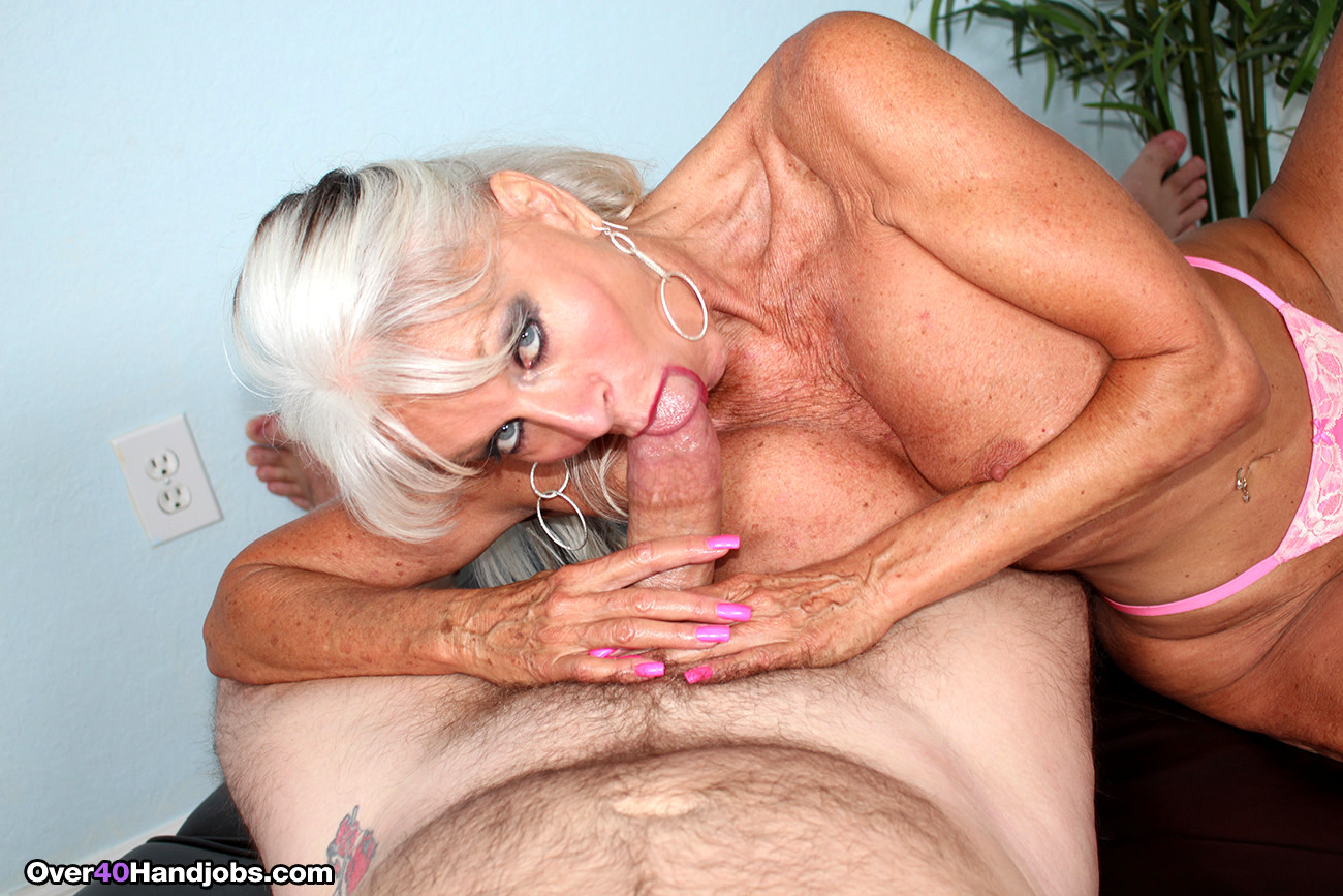 Once and hot milf cougar handjob