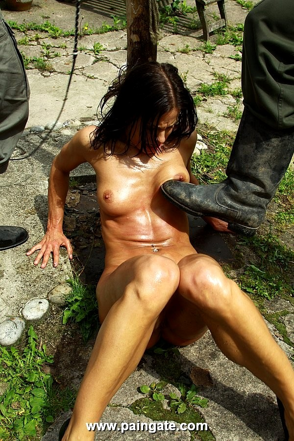Mini slut bound with ropes and fucked - 1 part 3
