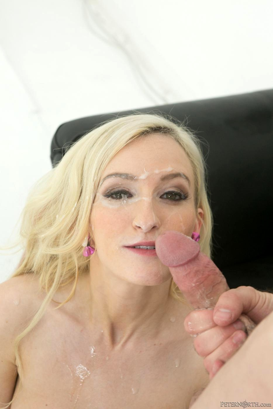 What nice Peter north facial cum shots love the