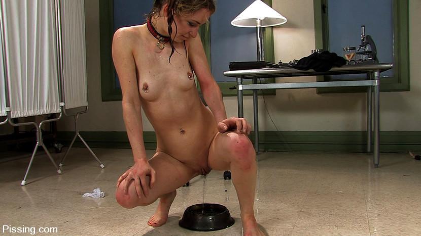 Urine drinking torture