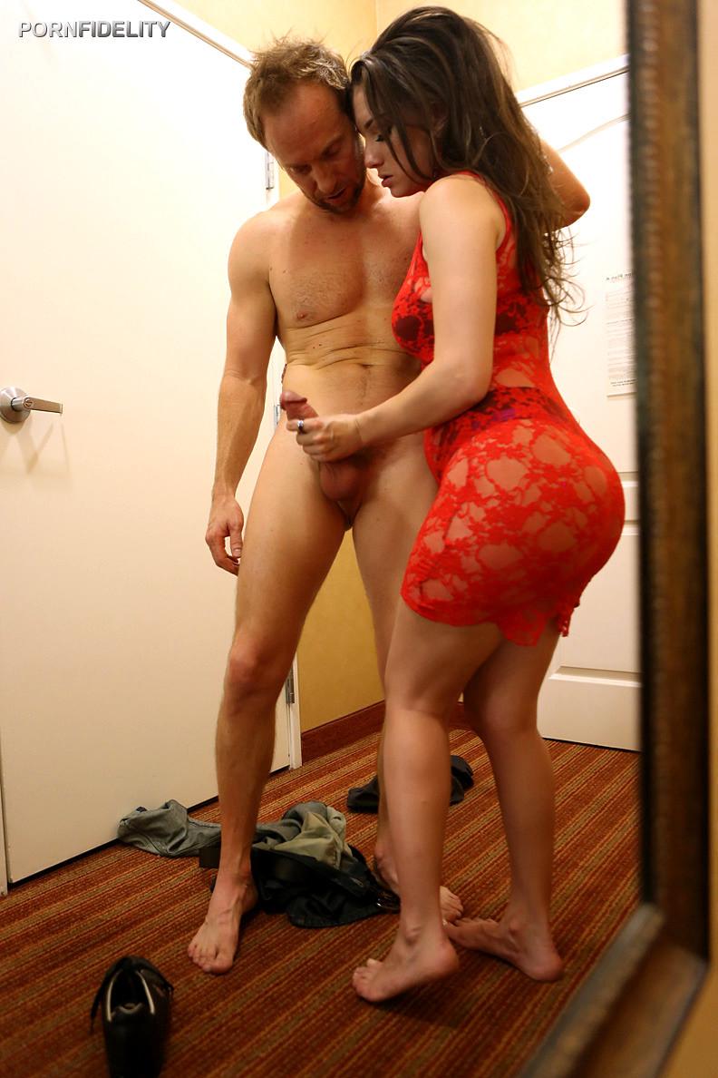 Busty redhead milf anal