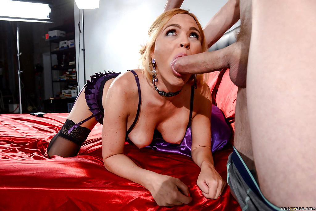 Watch Krissy Lynn Takes Huge Cock