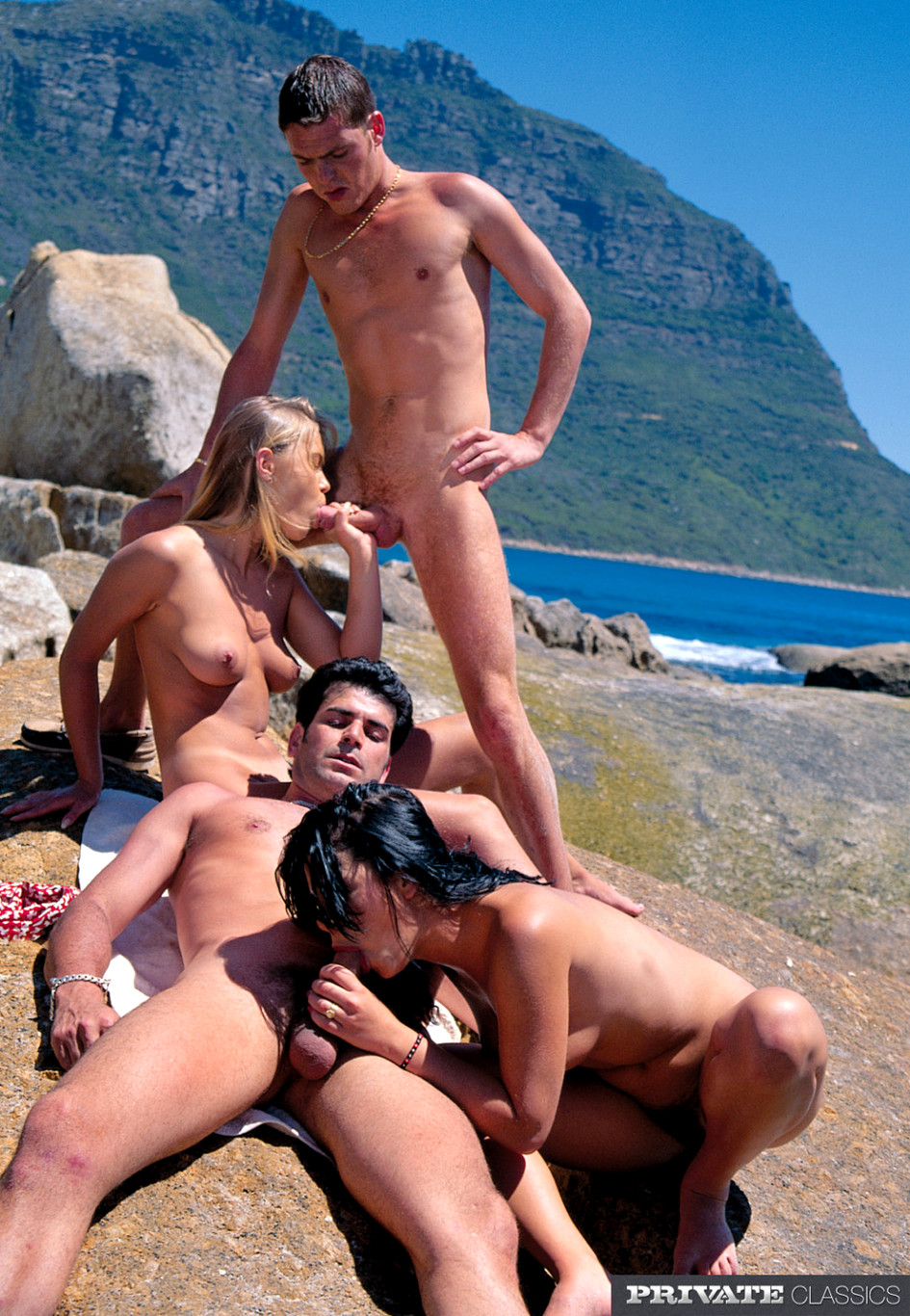 Bitch outdoor orgy 2 love