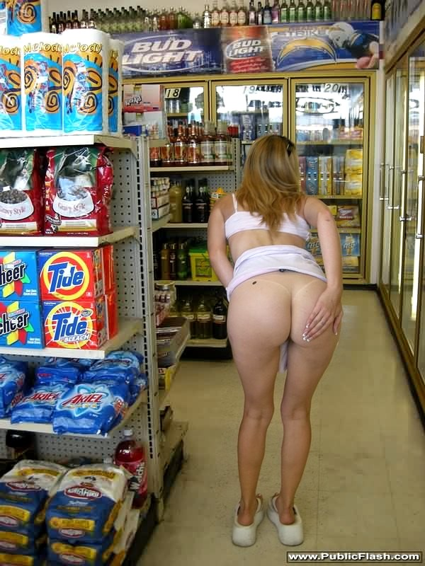 With Nude women public store