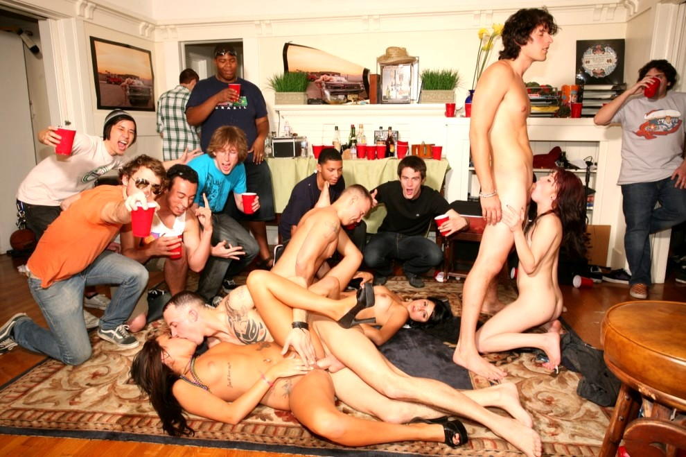 Teen video red tube nasty bar orgy from