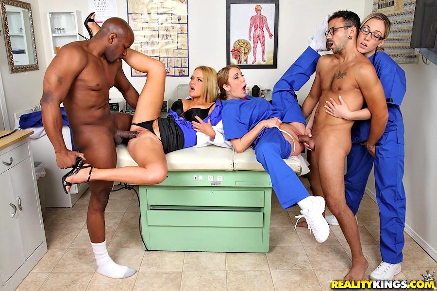 Real doctors having sex