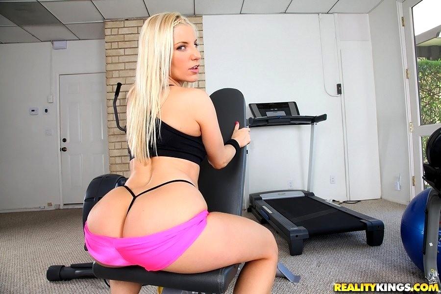 Ashley fires ass licking