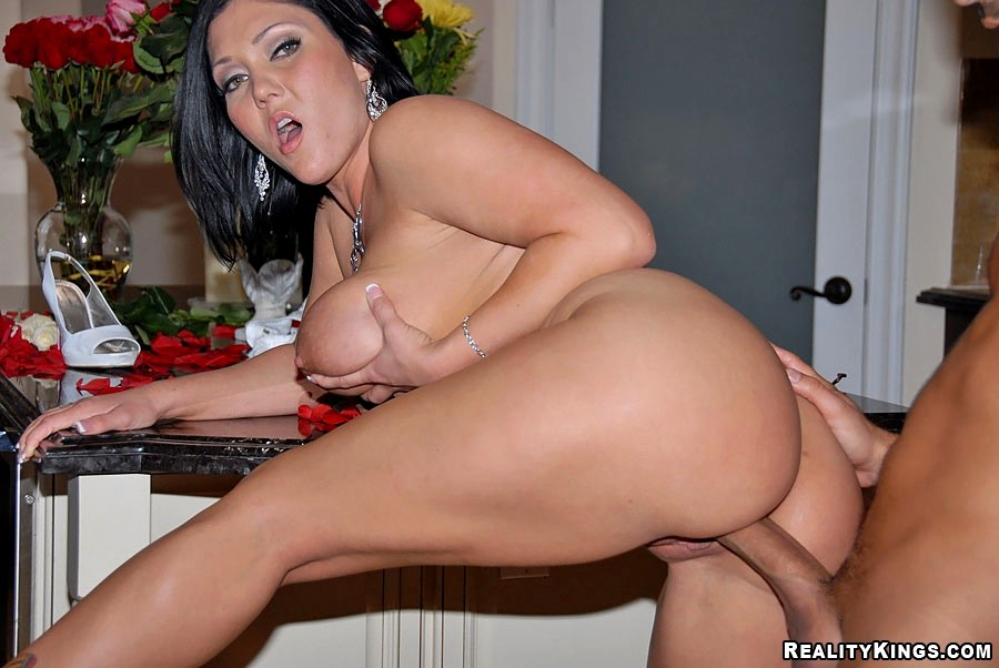 image Reality kings thick brunette bad girl makes a massive cock dissapear