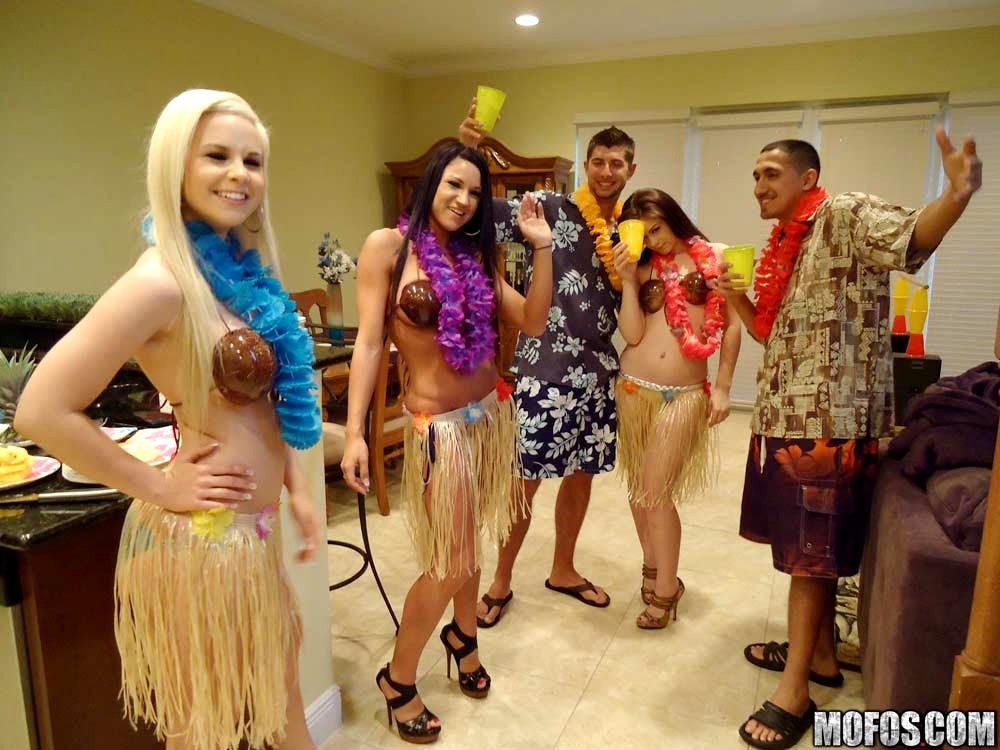 Real Slut Party Whitney Taylor Abagelle Banks Happy