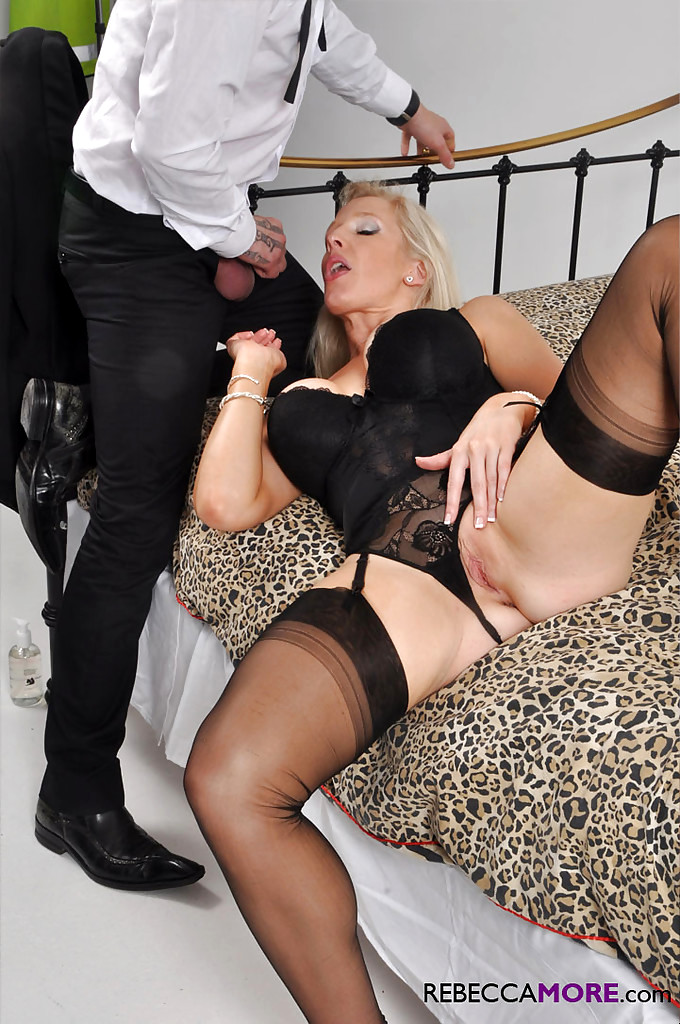 Dark angels mature women's black mesh lingerie