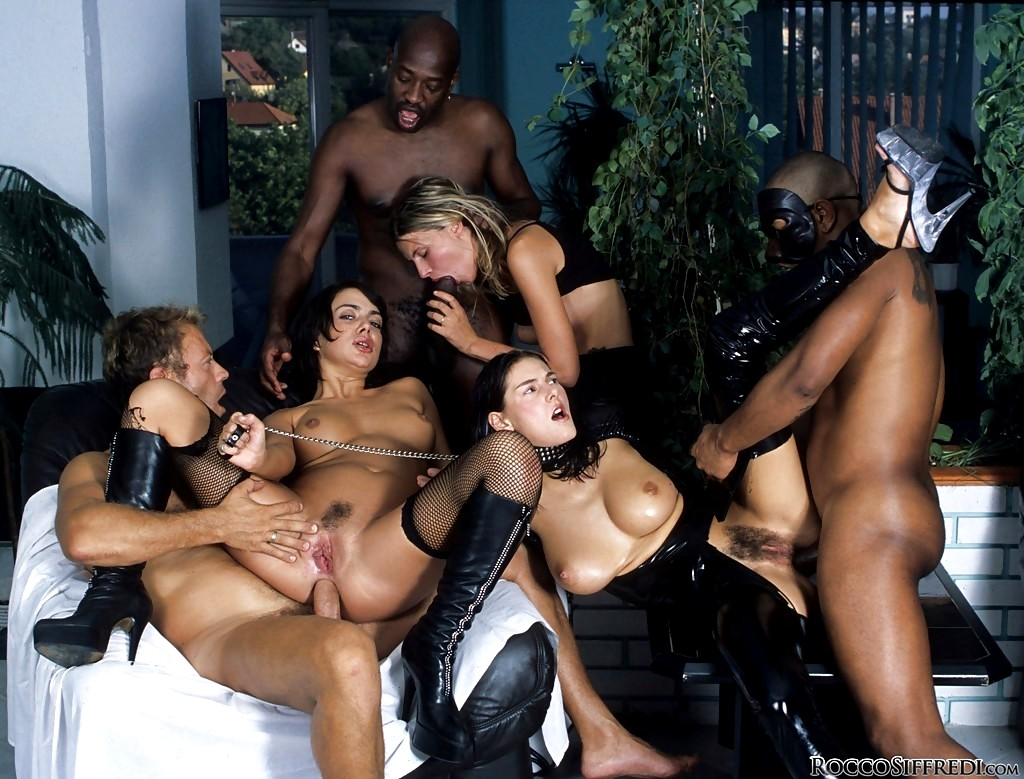 Free interracial sex orgy — pic 3