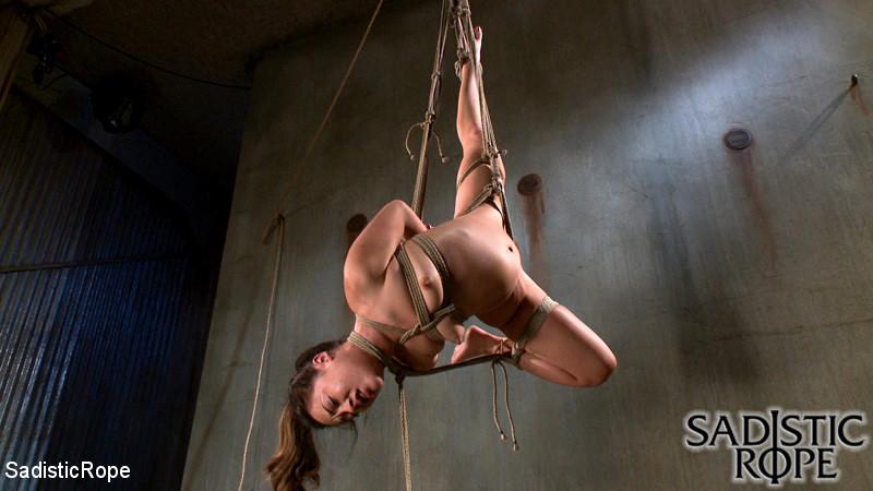 Alexis Taylor Hogtied Bondage