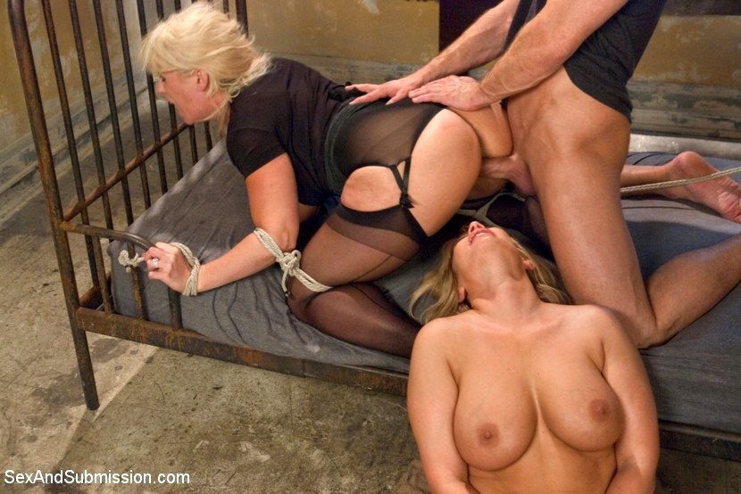 Fucked and granny bound