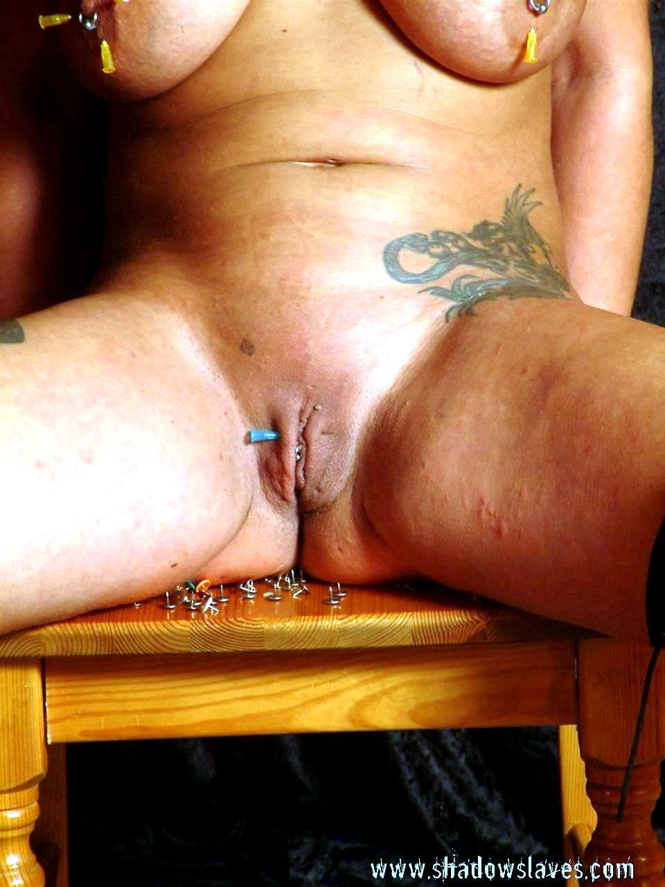 Mature Blonde Pussy Torture