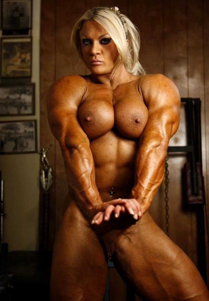 Fakes naked massive muscle womens