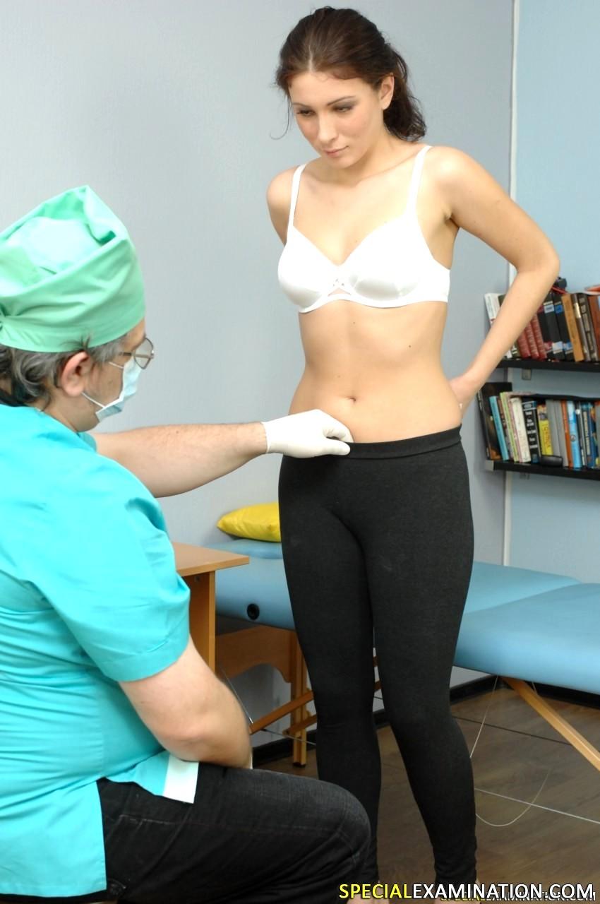 Medical examination sonia red 7