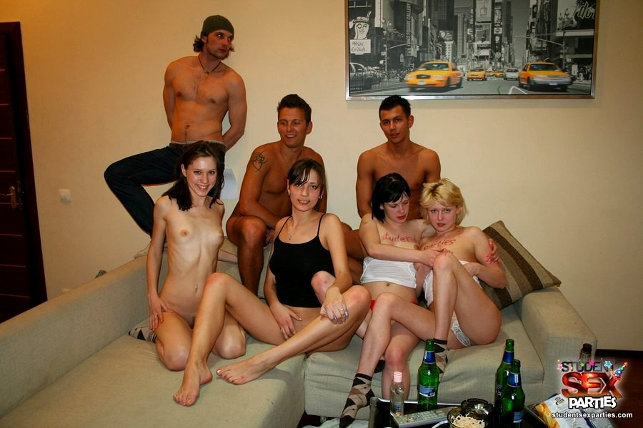 Student party sex