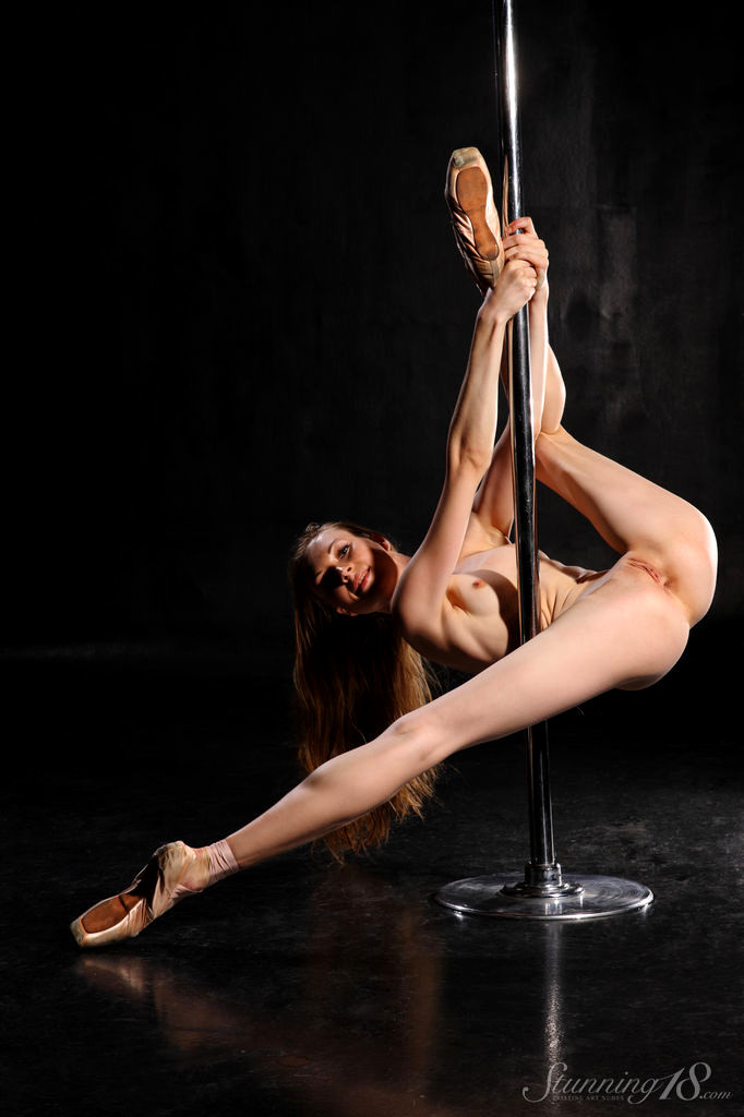 Naked Girl Strippers On A Pole