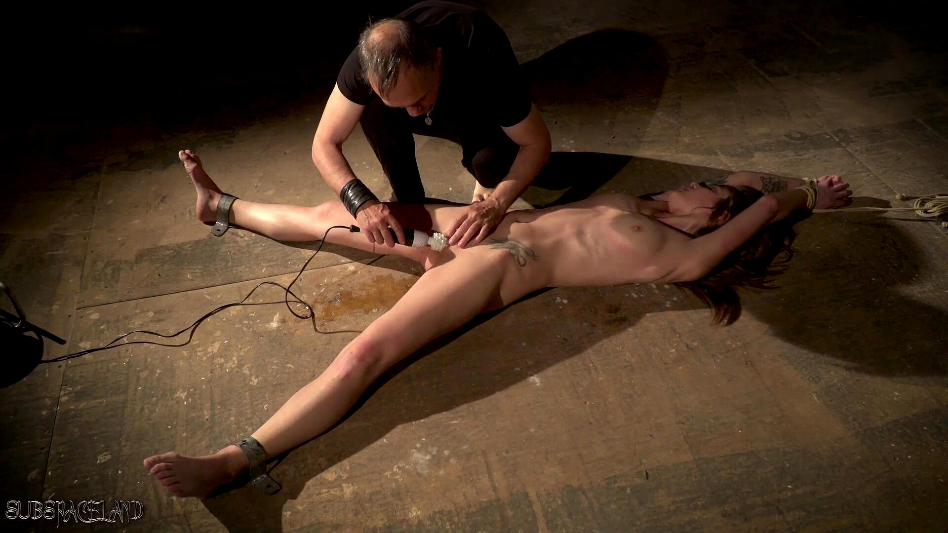 BDSM Bondage Teen And Spanking In Fetish Candle Wax Porn Photo