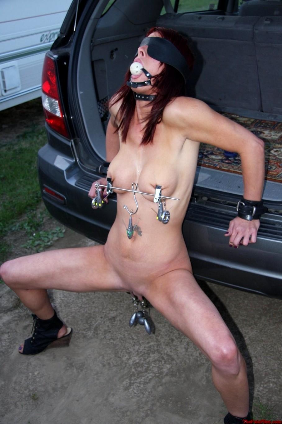 Tit torture porn pics
