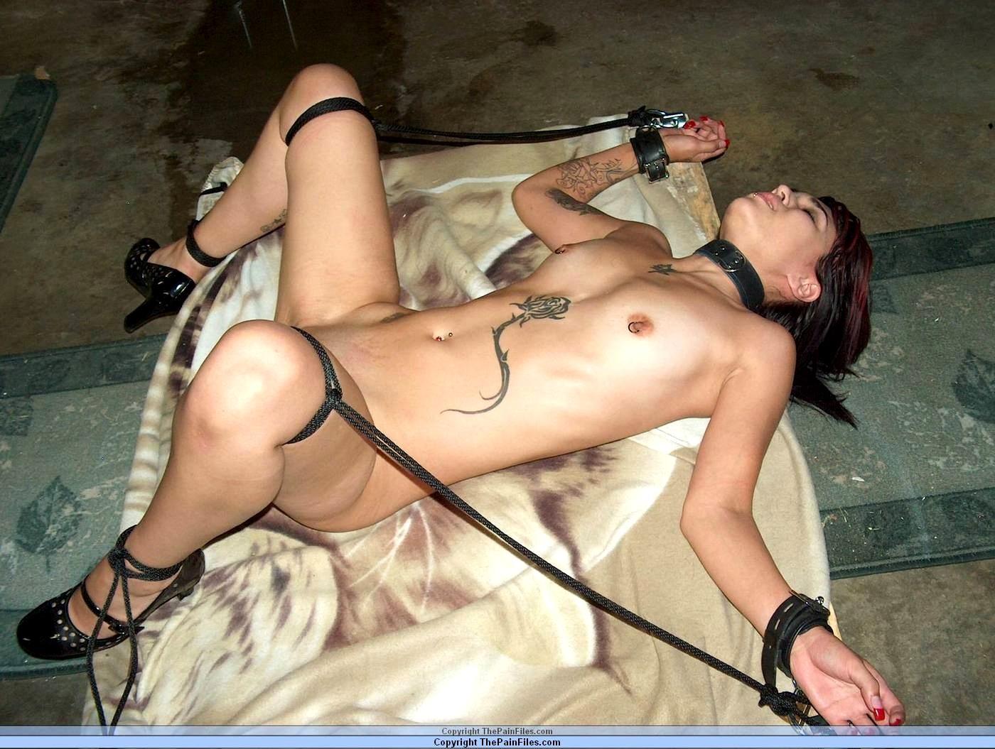 Young latina slave