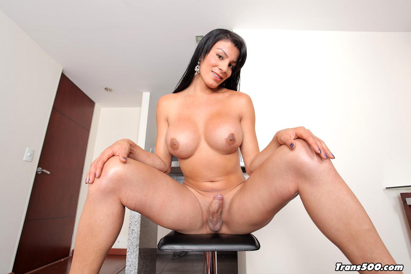 Beautiful trans nude