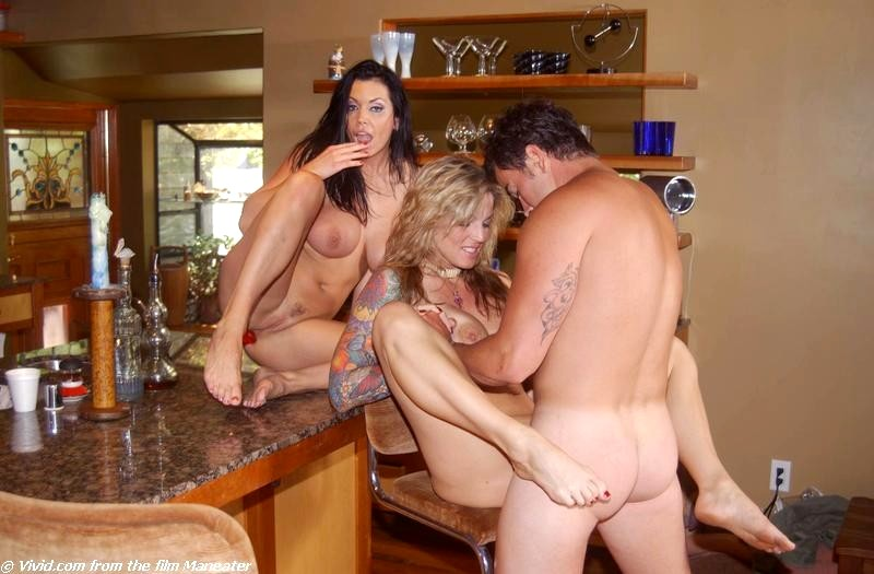 Not Janine lindemulder threesome message