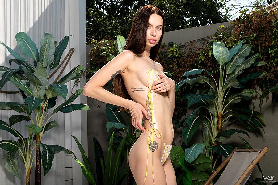 Frey  nackt Megan Naked model,