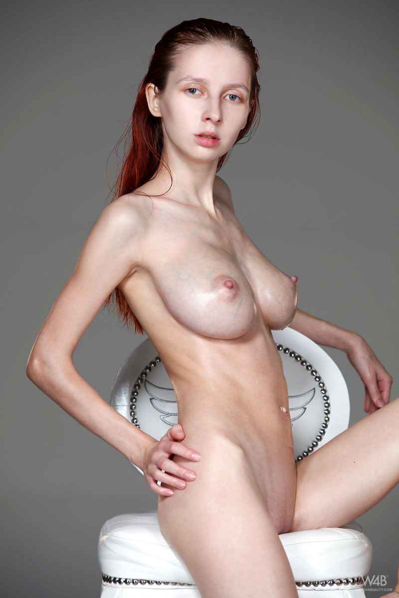 Nude skinny girls with big boobs