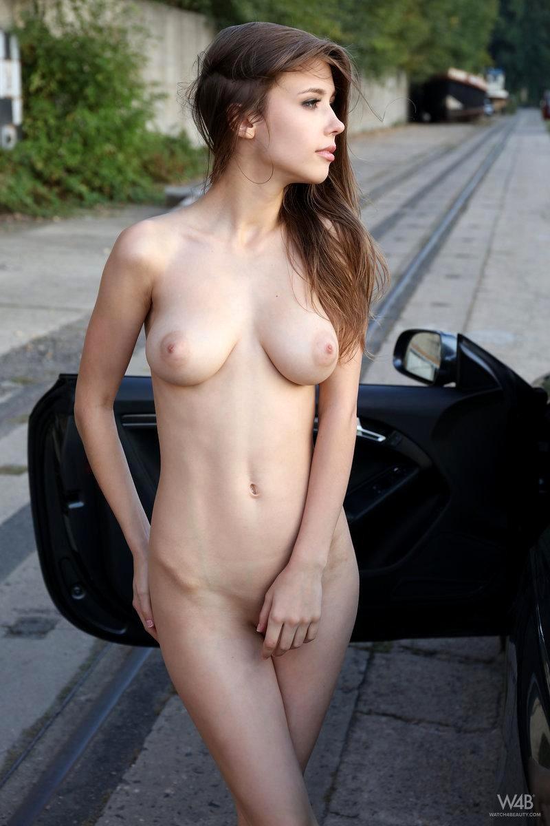 nikki benz nude brunette