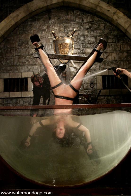 Lorelei Lee And Viking In Waterbondage Photo