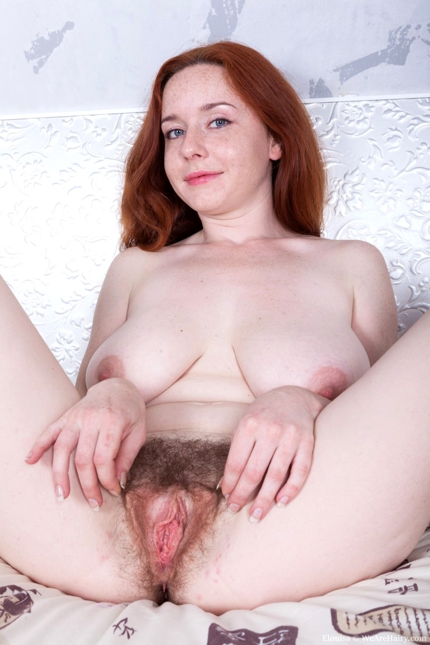 image Hot redhead shows us her great ass