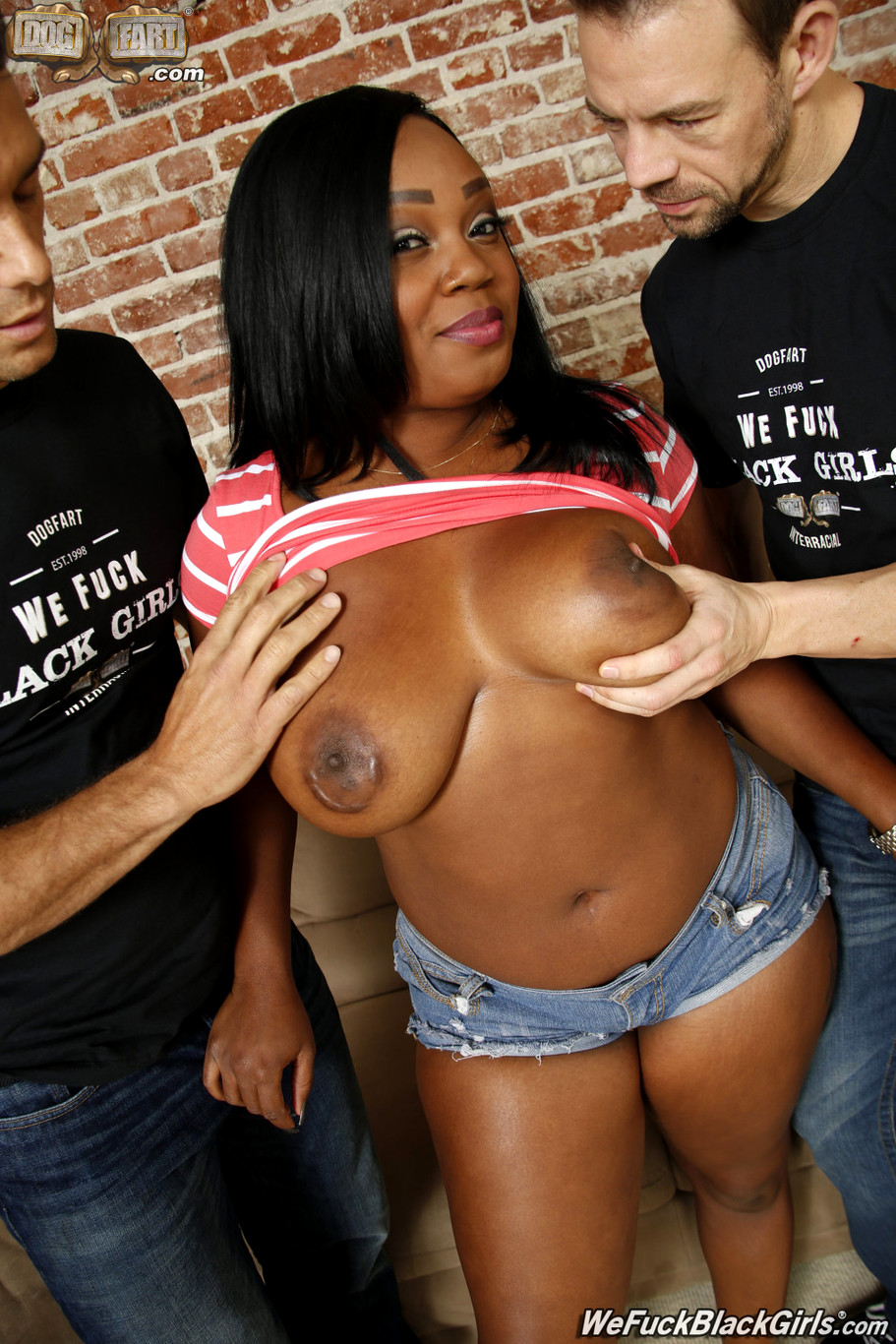 Big Booty Bbw Ebony Threesome
